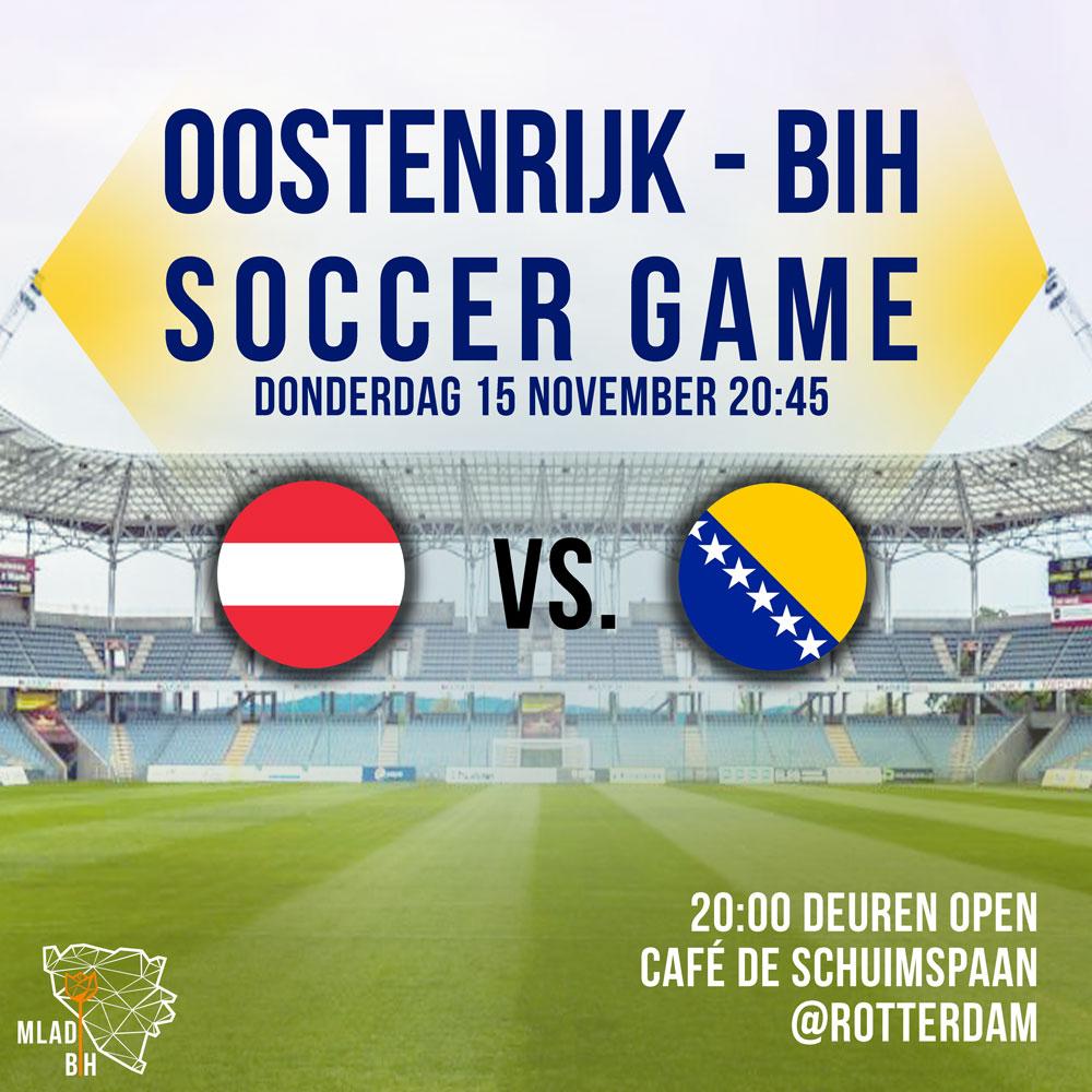 Oostenrijk - BiH 15-11-2018
